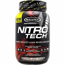 MuscleTech Nitro Tech Performance Series 2lbs. NitroTech 2 lb All Flavors New