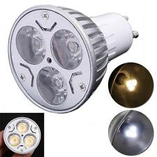 3W GU10 Dimmable LED Spotlight 300LM Cold/Warm White Lighting Lamp Bulb 220-240V