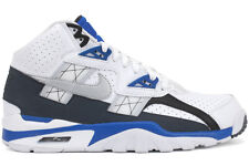 Nike Air Trainer SC High 302346 117 New Mens White Blue Light Grey Running Shoes