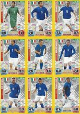 Match Attax England 2014 World Cup Trading Cards (ITALY-Base) 144-155