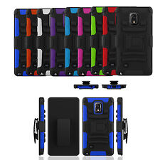 Advanced Armor Rugged Holster Swivel Belt Clip Kick Stand Cell Phone Case Cover