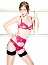Agent Provocateur L'Agent  CLOE Red Bra & Thong BNWT RRP  £74 Perfect  Gift