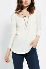 NWT BDG Ivory Soft Sweater Top Free People Urban Outfitters Size XS,S,M,L $68