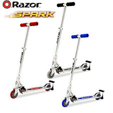 Razor Spark Scooter Bar 2 Wheel Kick Scooters Collapsible Handlebars