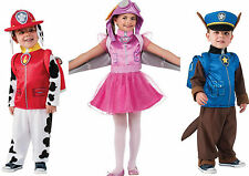 Paw Patrol Dress Up Costume - Chase, Marshall OR Skye Ages 1-2 or 3-5Y