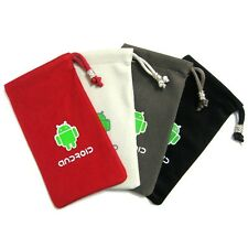 Android Phone Cloth Pouch Case For Motorola Defy MB525 / Defy+ MB525+