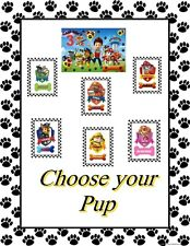 Paw Patrol Iron-On Transfers  Personalize your child's favorite pup