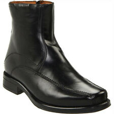 Giorgio Brutini Jackson 249931 Mens Black Leather Side Zip Dress Ankle Boots