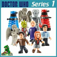 DR WHO MINI FIGURES SERIES 1 CHARACTER BUILDING MICRO MINIFIGS DOCTOR RARE