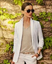 SUPERSALE! NWT Tailored Linen MASSIMO DUTTI blazer RRP165€ Sizes M&L