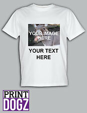 Custom T Shirt STAG HEN Funny Parody Personalised Your Image Photo Here Funny