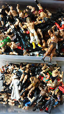 WWE FIGURES LOTS TO CHOOSE FROM CLASSICS & DELUXE 1-8 FIGURES JUST £2.80 P&P 77