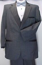 PIERRE CARDIN CHARCOAL GRAY GREY BOYS  TUXEDO JACKET OR 4PC TUX WEDDING