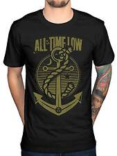 Official All Time Low Holds It Down T-Shirt A Love Like War Glamour Kills Panic