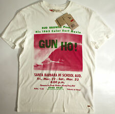 Levi's Jeans Bud Browne-GUN HO!-'63 film- t-shirt-XL-NEW-Levis-RARE retro SURF-