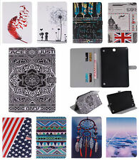 Magnet Flip Folio Card Holder Leather TPU Stand Case For iPad Samsung PC Tablet