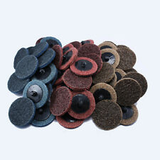 "2"" Roloc Surface Conditioning Discs - Prep Pads Fine Blue Medium Red Coarse Tan"