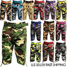 NWT MEN 13 DIFFERENT COLORS OF CAMO CARGO SHORTS CAMOUFLAGE CARGO SHORT 32 ~ 44