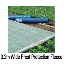 Frost Fleece 3.2m wide 17gsm plant protection cold winter greenhouse polytunnel