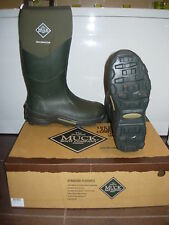 MUCK BOOT MUCKMASTER UNISEX MOSS GREEN WELLINGTONS Various Sizes (TAY UPGRADE)