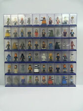 DR WHO MINI MICRO FIGURES CHOOSE FROM 60! SERIES 1,2,3,4,NEW,RARES,LTD ED PROMO