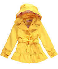 "Little Girls' Toddler ""Peplum Flamingos"" Raincoat (2T - 4T)"