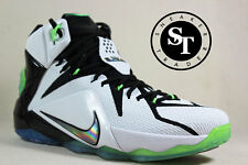 NIKE LEBRON XII 12 AS ALL STAR 742549-190 WHITE MULTI COLOR BLACK DS SZ: 11