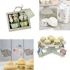 Baby Shower Christening Party Candles, Cupcake Cases, Cake Toppers & Stands
