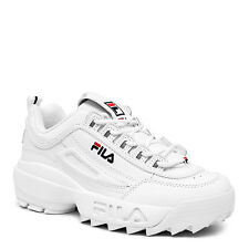 FILA DISRUPTOR II White White Red FW01655 111  Active Life Style Men