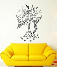 Wall Decal Tree Birds Nature Steps Dreamсatcher Mural Vinyl Stickers (ed003)