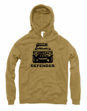 Mens Landrover Defender 90 110 Hoodie Hoody Off Road Roader 4x4