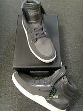 NEW TABOO DELTAH 3008 DESTROYER SNEAKERS GREY WHITE SILVER THE BLACK EYED PEAS