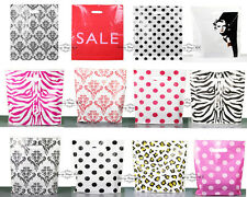 """New Printed Strong Carrier bag 15""""x18""""x3"""" (Medium) Plastic Gift shopping Bags"""