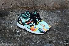 ADIDAS ZX FLUX NPS TROPICAL PRINT NEOPRENE limited edition spring 2015 donna