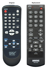 Original DTV Sylvania/Emerson NF606UD Replacement Remote Control by Anderic