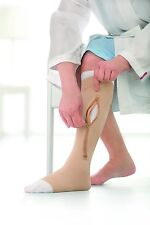 5-LINER JOBST UlcerCARE Compression Knee High Stocking Support Ulcer Zipper Sock