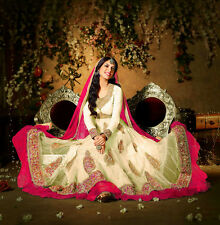 Designer Indian Pakistani Anarkali Traditional Bridal Wedding Party Suits 27158