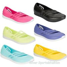 Adidas Qt confort Slip On Jelly Shoes Talla Uk 4-6 jaleas Playa Piscina caminar Bombas