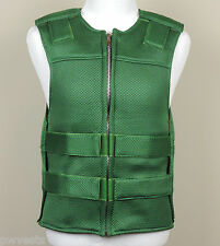 Hunter Green Mesh Motorcycle Vest - Bulletproof Style - FREE Delivery - PWVests