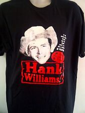 HANK WILLIAMS COUNTRY ROCK  TSHIRT ALL SIZES