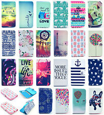 Wallet Stand Leather Flip Case For Samsung Galaxy Ace 3 S7270 S7272 S7275