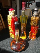 DECORATIVE INFUSED OIL BOTTLES