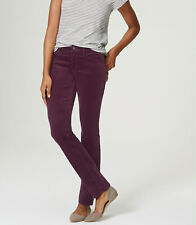 Ann Taylor LOFT Curvy Skinny Corduroy Pants Various Colors and Sizes NWT