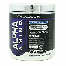 Cellucor Alpha Amino 30 Serving All Flavors Performance Aminos BCAA with Leucine