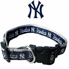 MLB Fan Gear NEW YORK YANKEES Nylon Collar for Dog Dogs Puppy Puppies