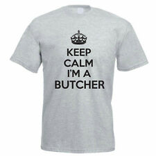 KEEP CALM I'M A BUTCHER - Meat / Carnivore / Novelty / Funny Themed Mens T-Shirt