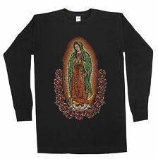 Men's The Madonna Our Lady Of Guadalupe Virgin Mary Religious Graphic Shirt