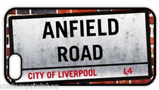 """""""LIVERPOOL FC ANFIELD ROAD STREET SIGN"""" iPHONE 6 5 5S 5C 4 plus REAR COVER CASE"""