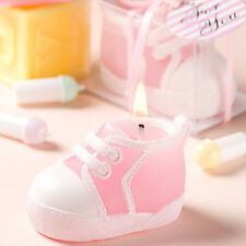 Adorable Baby Bootie/Sneaker Candles  *Pink or Blue  *Christening & Baby Favors