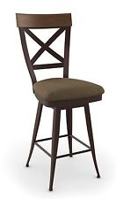 Amisco Kyle Swivel Counter, Bar Stool or Spectator Stool - 41414